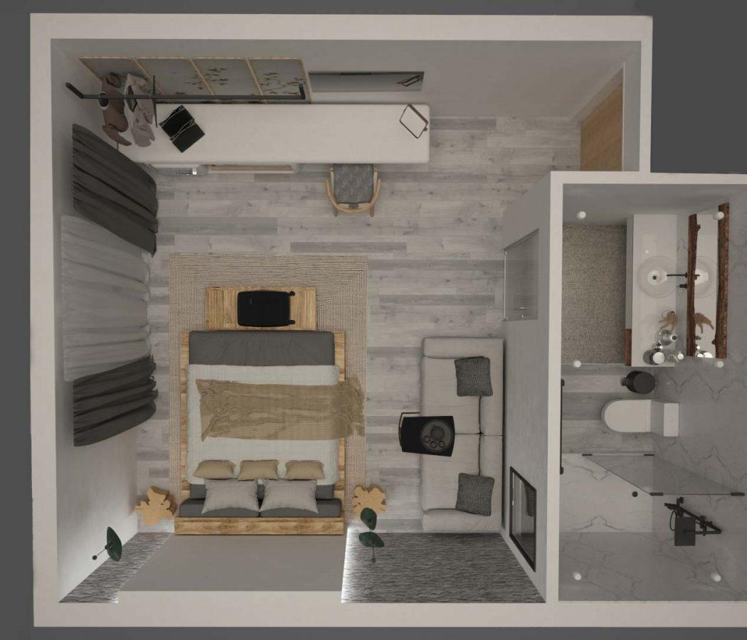 Garden-View-Triple-room-Jac-Floor-Plan
